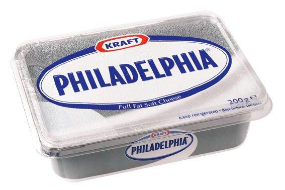 """Queso Philadelphia """"original"""" aprueba nuestro examen."""